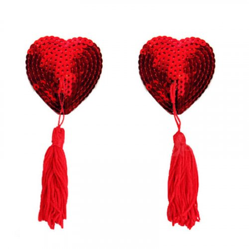 LOVE HEART TASSEL
