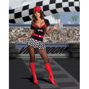 LIGHT UP RACER CAR COSTUME