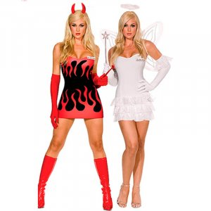 DEVIL OR ANGEL COSTUME